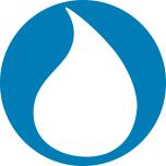 Aquatrols Water Drop Logo Mark