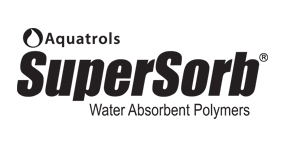 SuperSorb Water Absorbent Polymers logo by Aquatrols