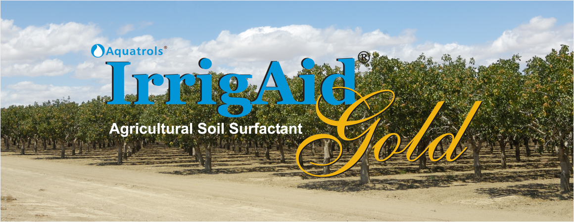 IrrigAid Gold logo on crops