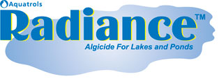 Radiance Algicide for Lakes and Ponds Logo by Aquatrols