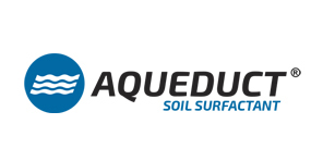 Aqueduct Soil Surfactant logo by Aquatrols