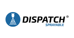 The Water Saving Soil Surfactant, Dispatch Sprayable Soil Surfactant logo by Aquatrols