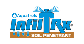 InfilTrx Soil Surfactant Logo by Aquatrols
