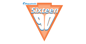 Sixteen90 economical soil surfactant Logo by Aquatrols